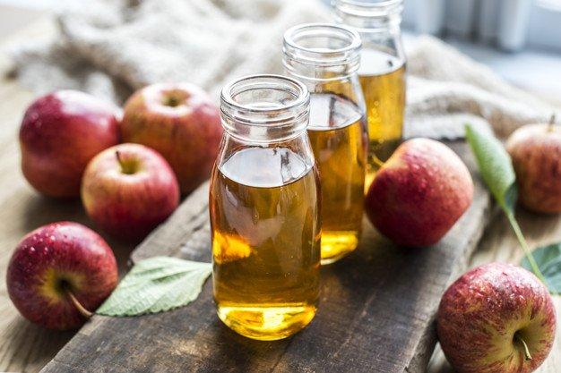 Cuka apel memutihkan kulit