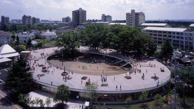 fuji kindergarten tezuka architecture education playgrounds japan tokyo dezeen hero 1 852x479