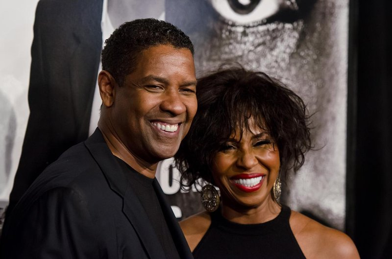 gallery showbiz denzel washington pauletta pearson