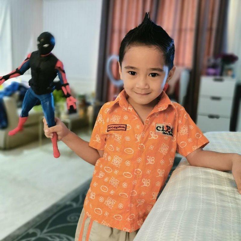 Inspirasi Potongan Rambut Anak Laki Laki Dari Anak Artis Indonesia