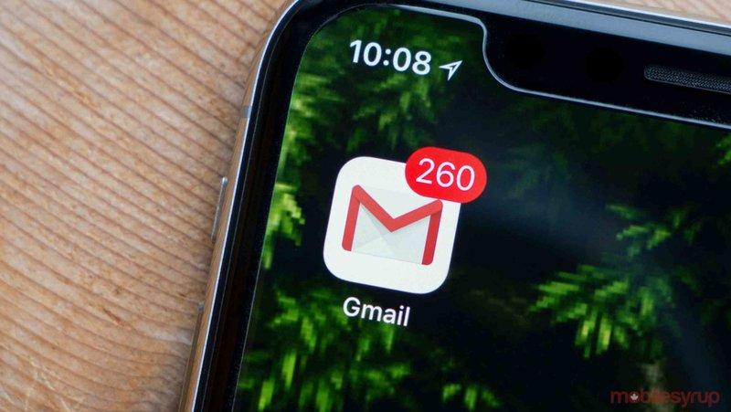Gmail di HP