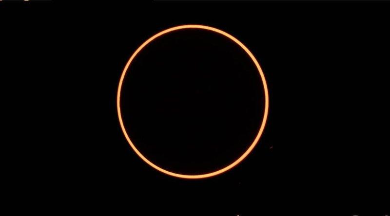 saksikan gerhana matahari cincin di akhir pekan, ini waktu dan lokasi untuk mengamatinya