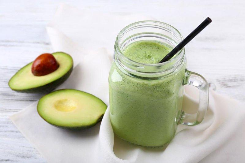 green envy avocado smoothie