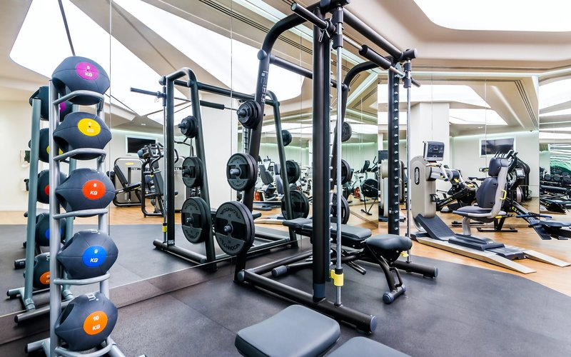 kembali gym di masa new normal