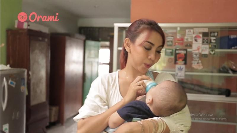 Hages Budiman, Ibu dengan HIV