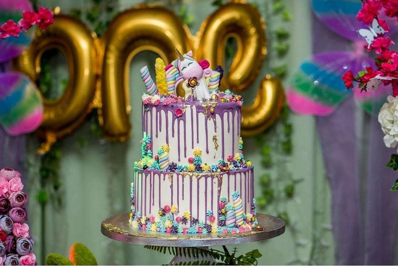11 Kue Dan Cookies Unicorn Untuk Inspirasi Ulang Tahun Si