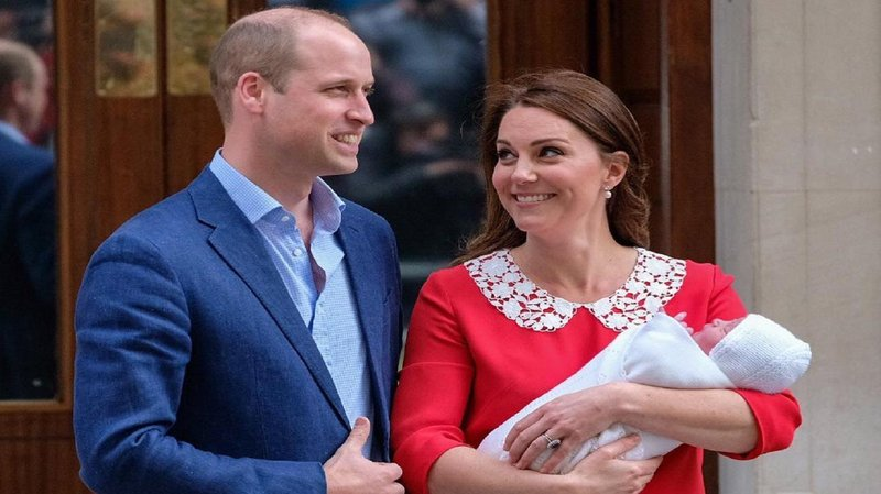hero anak ketiga kate middleton