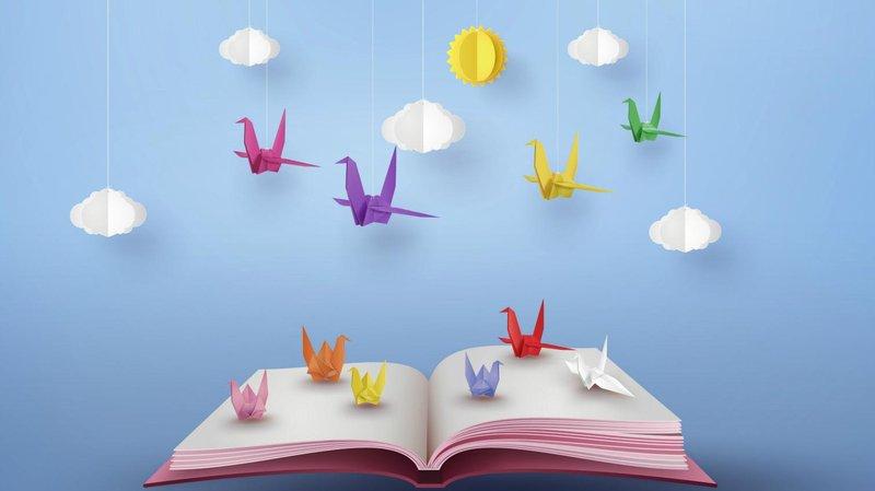 kegiatan akhir pekan di rumah-belajar origami