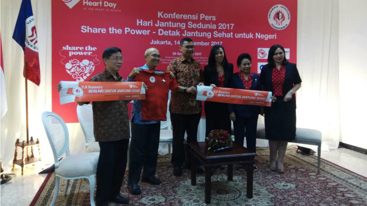 Hari Jantung Sedunia, Yayasan Jantung Indonesia Ajak