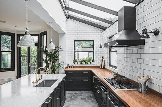 cara menata dapur minimalis