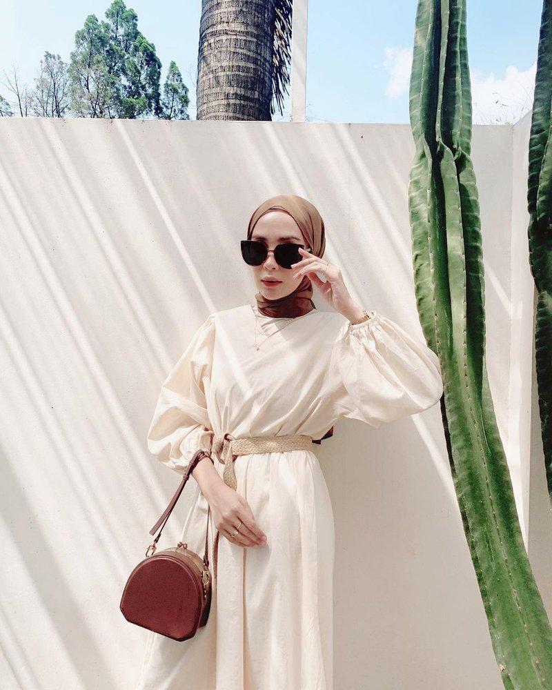 ootd hijab kekinian ala selebgram