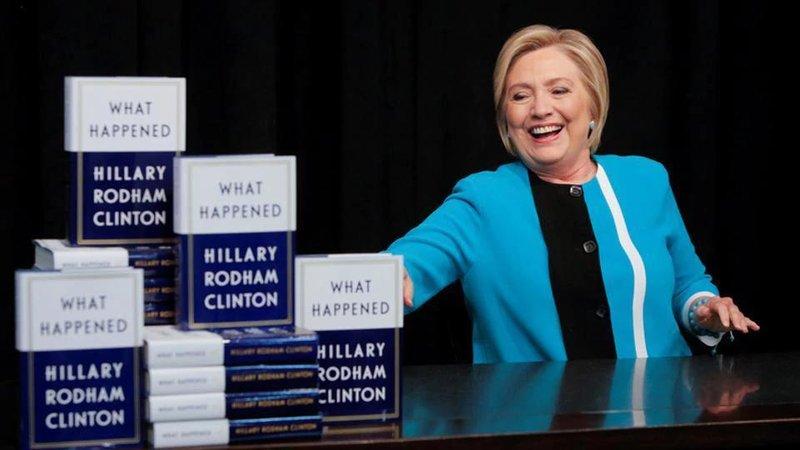 hillary clinton buku