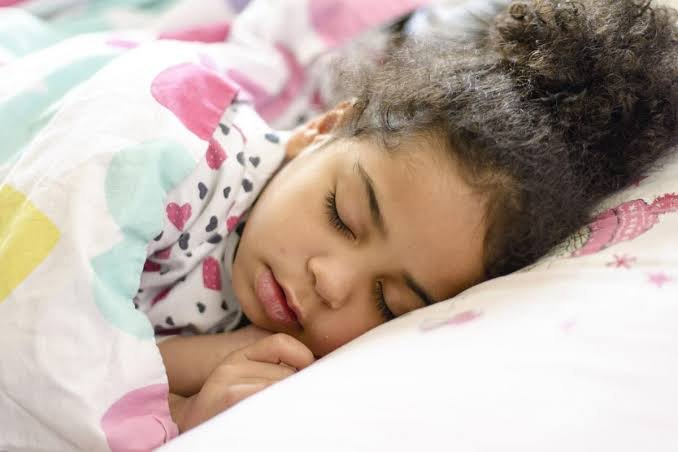 anak, flu, cukup tidur, tidur