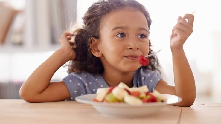 anak, flu, makanan, buah, sayur