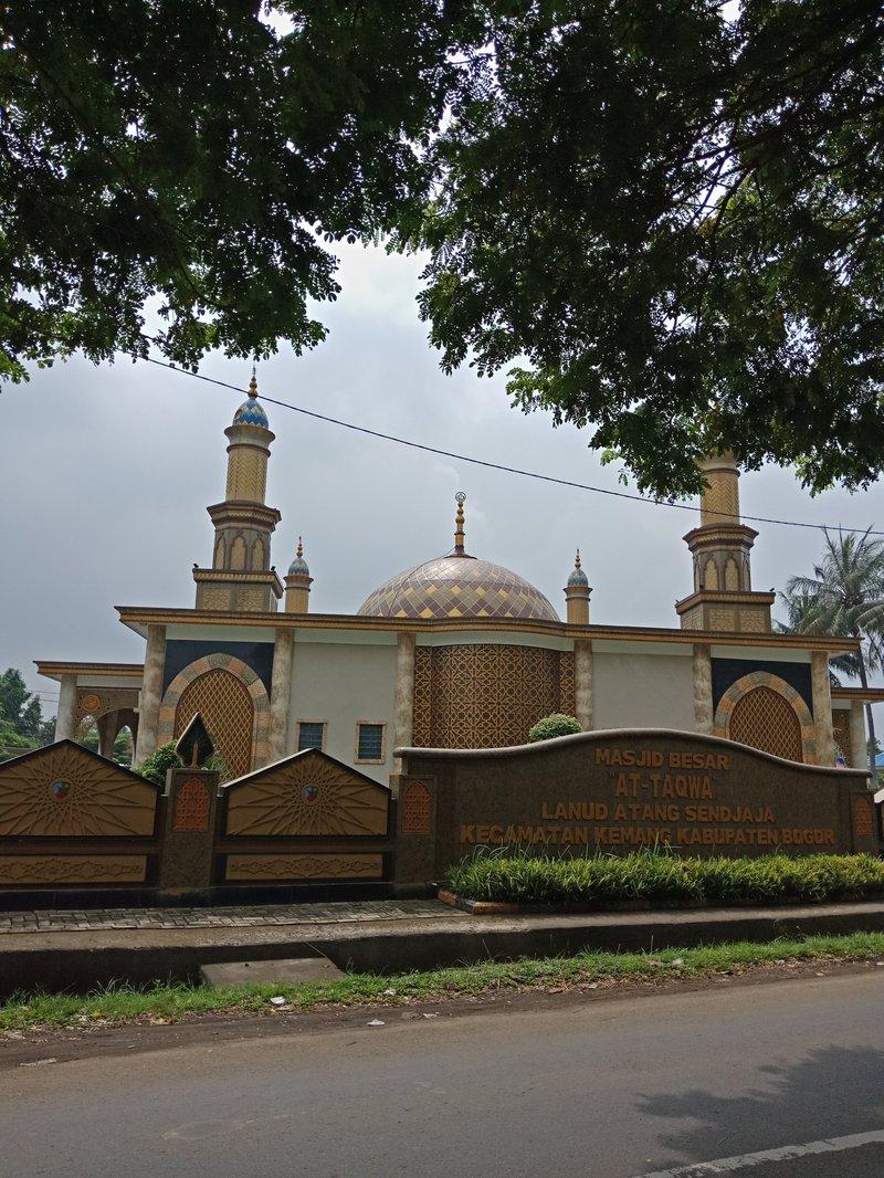 masjid di kota bogor