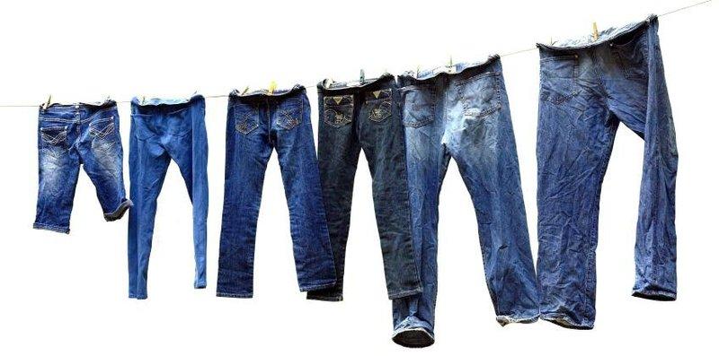 jeans dijemur
