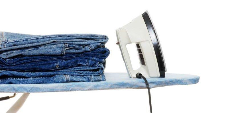 jeans disetrika