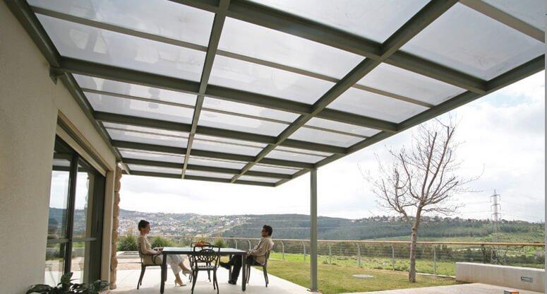 jenis atap kanopi polycarbonate