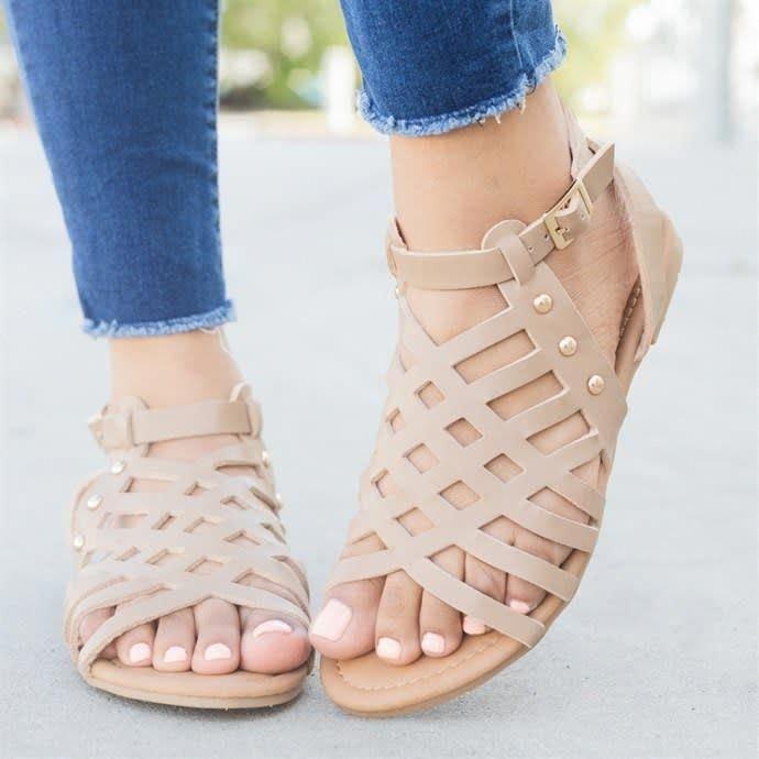 jenis sepatu wanita Gladiator sandals.jpg