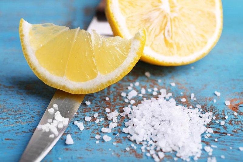 kaki pecah2 lemon garam
