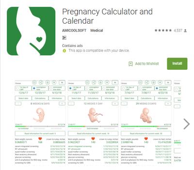 kalkulator hamil