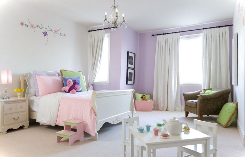 warna kamar anak perempuan