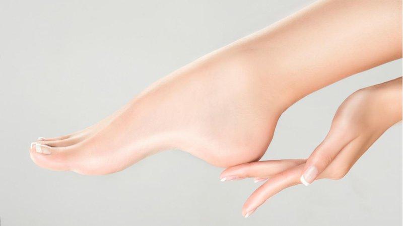 kecantikan tumit kaki