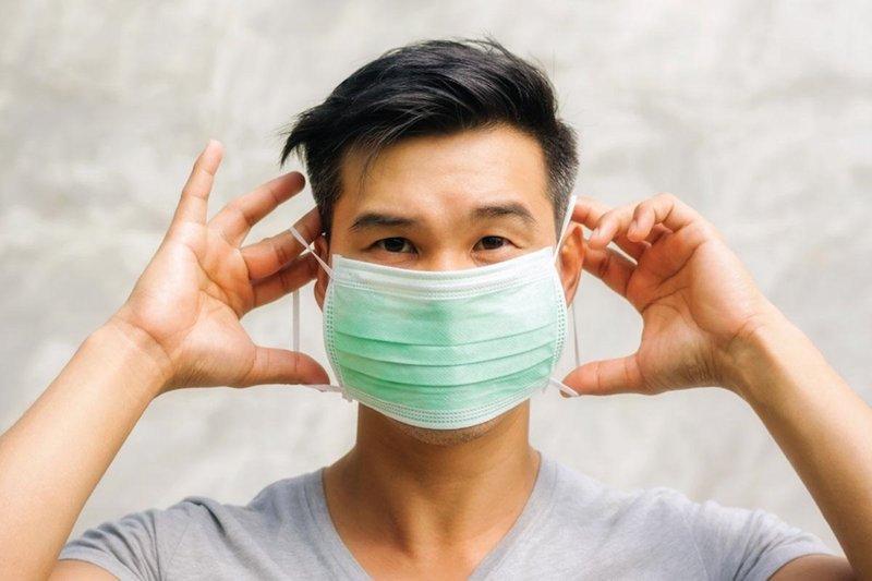 cara lepas pakai masker dengan aman