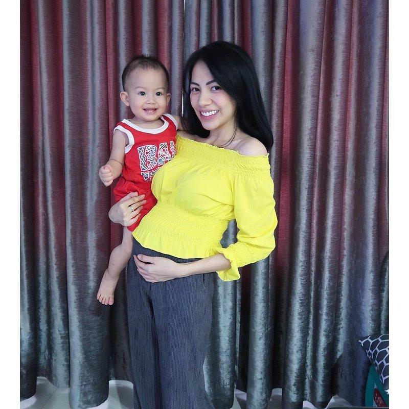 kezia karamoy hamil anak 2