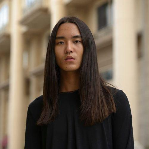 model rambut panjang