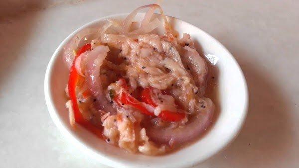 makanan khas riau - cincalok