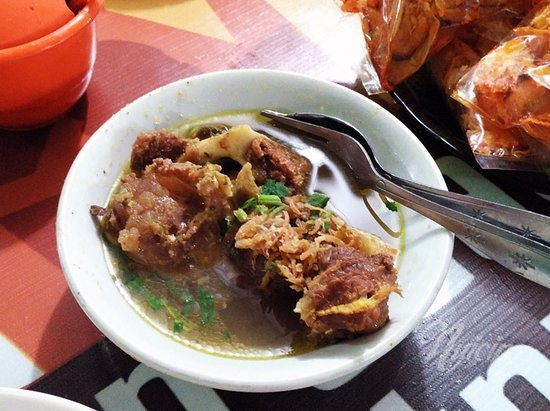 makanan khas riau - sup tunjang