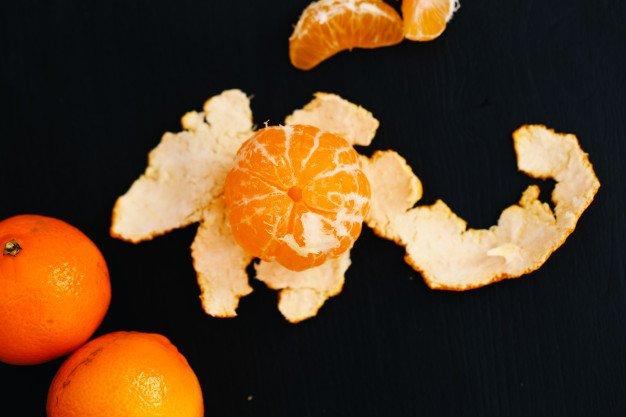Kulit jeruk tidak disukai tokek