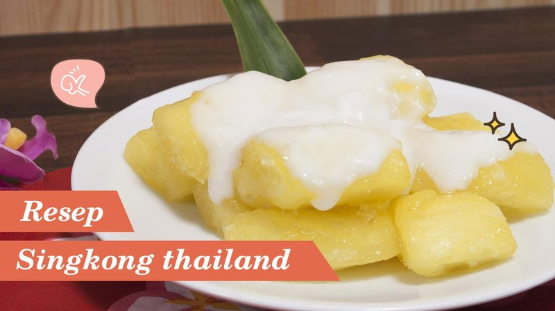 manis gurih singkong thailand, begini cara membuatnya hero