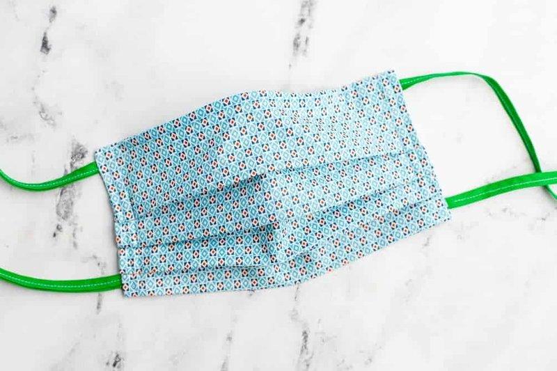 membuat masker kain