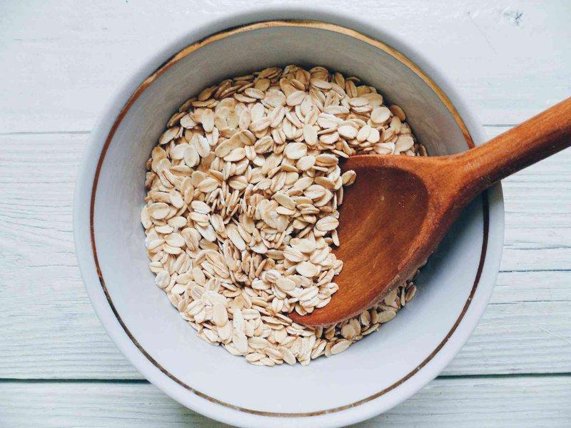 oatmeal untuk rambut rontok
