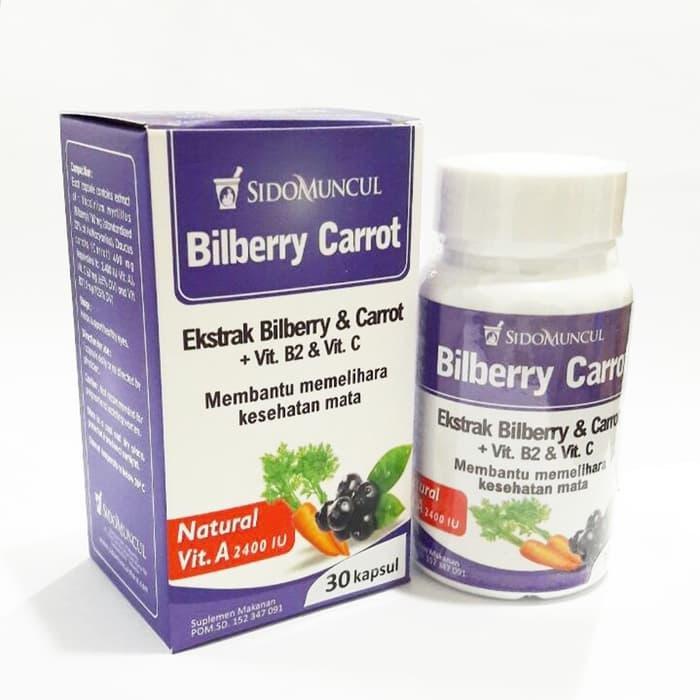 Vitamin Mata Sidomuncul Bilberry Carrot