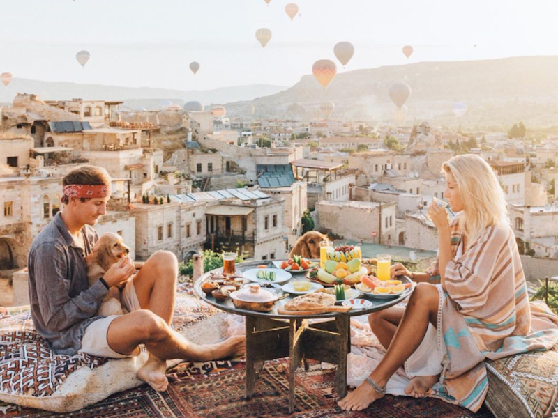 meet the instagram famous travel blogging couple who get paid up to 7000 to post a single photo