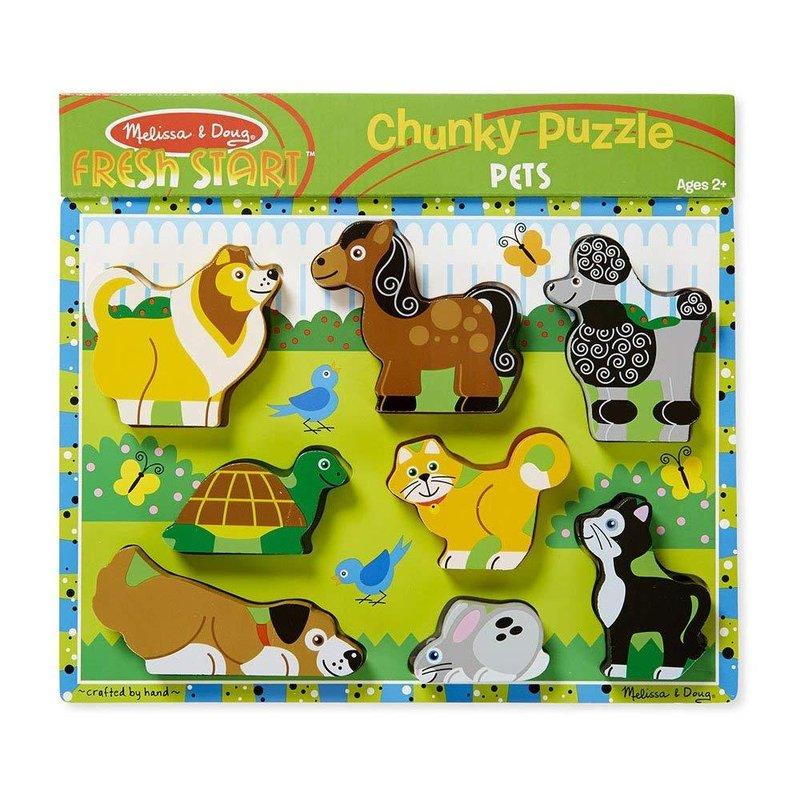 melissa & doug chunky puzzle