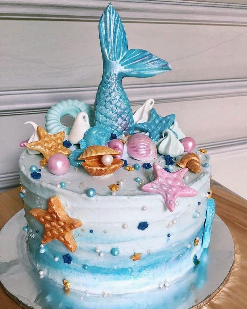 5 Inspirasi Kue Bertema Mermaid Cantik Untuk Memeriahkan