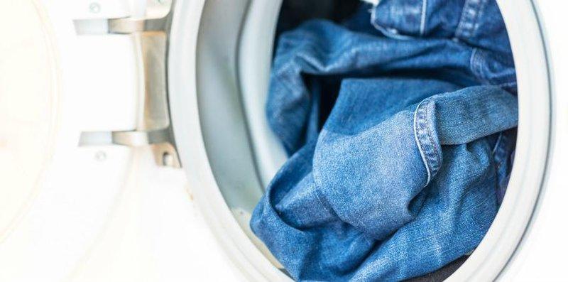 mesin cuci jeans