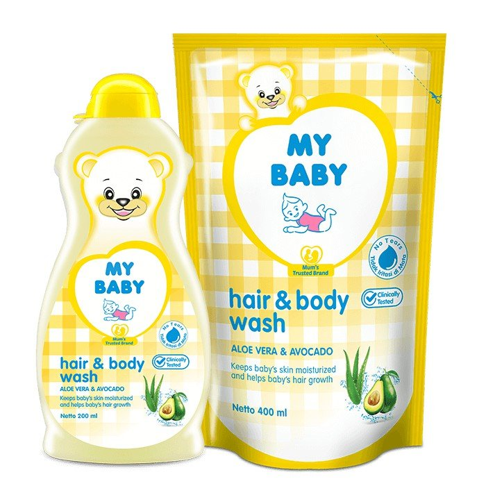 My Baby Hair and Body Wash
