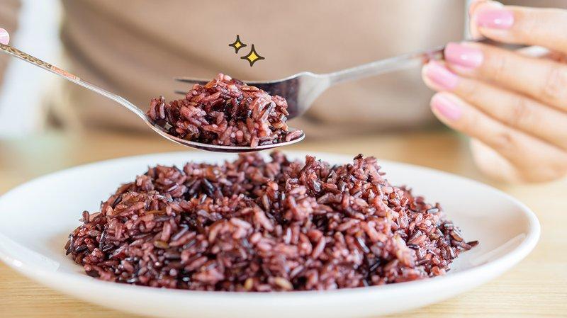 nasi merah