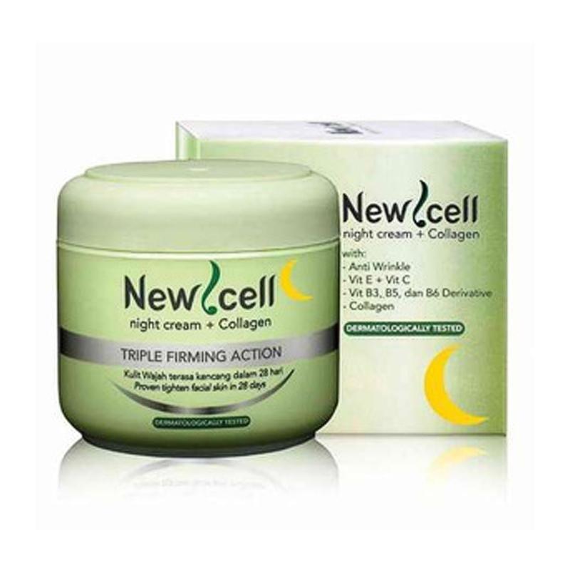 night cream purbasari new cell night cream