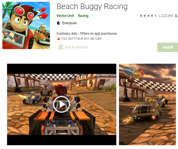 offline game android Beach Buggy Racing.png