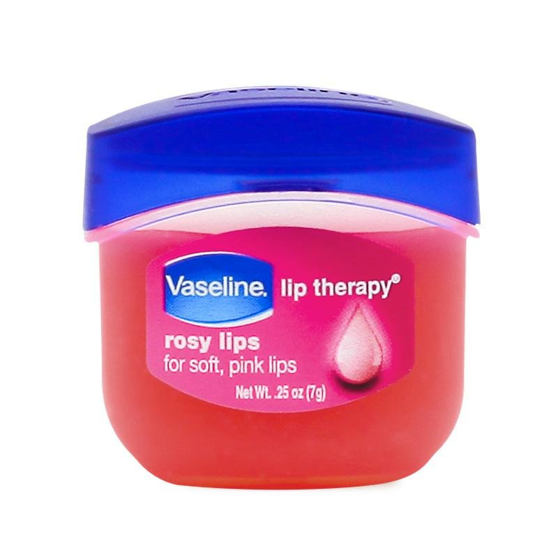 original vaseline rosy lips 7g for soft pink lips 2 pieces moisturizing lip wrinkles