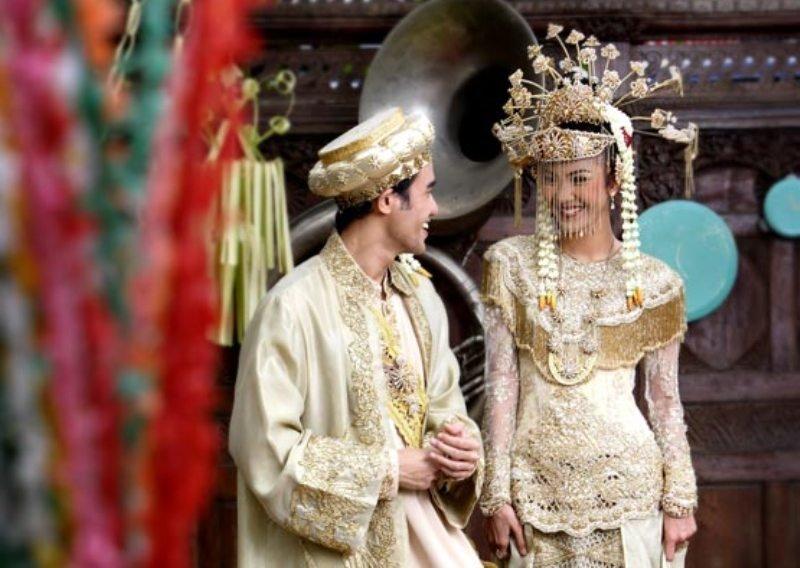 pakaian adat betawi - baju pernikahan betawi