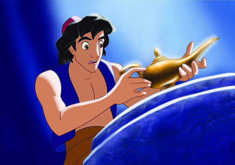 aladdin, dongeng anak laki-laki