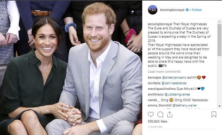 pangeran harry dan meghan markle berita kehamilan