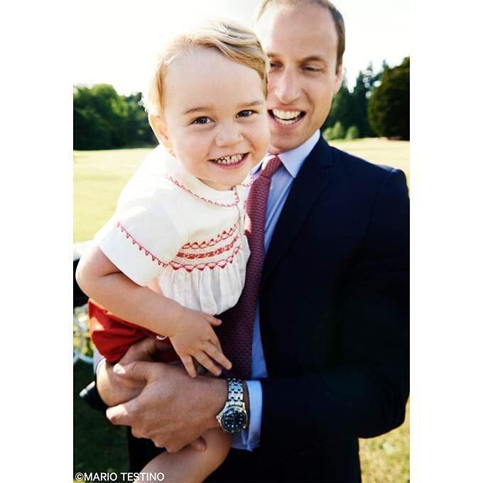 pangeran william george bahagia